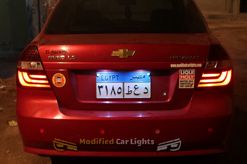 Modified Car Lights Automotive Lighting Aveo Tail Lights 2